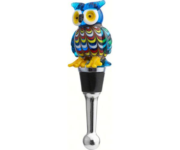 Bottle Stopper - Venetian Owl BS-394