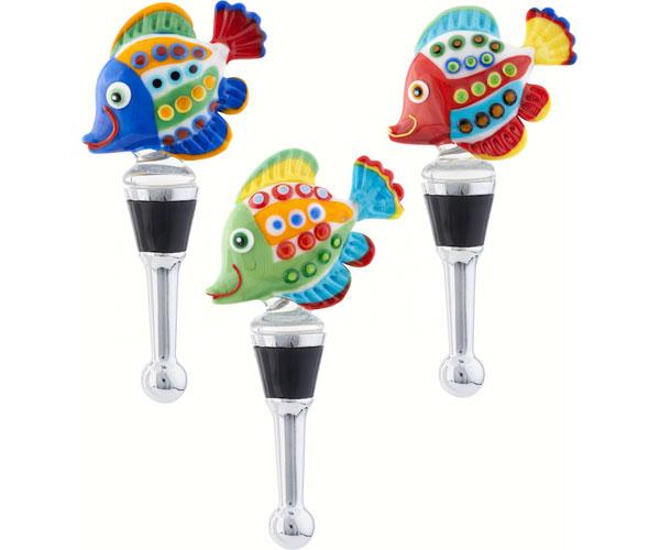Bottle Stopper - Funky Fish BS-446