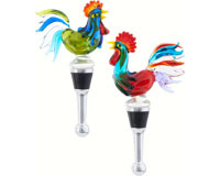 Bottle Stopper - Classic Roosters BS-447