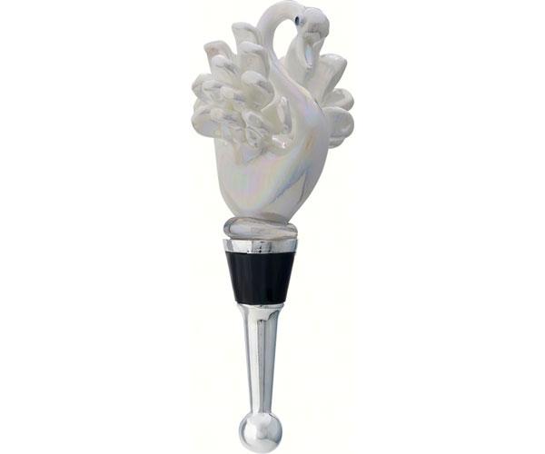 Bottle Stopper - White Swan - TBD BS-459
