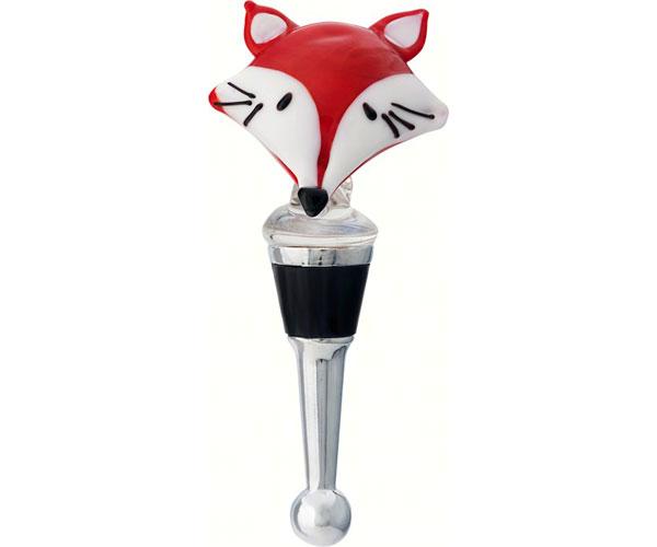 Bottle Stopper - Red Fox Face - TBD BS-460