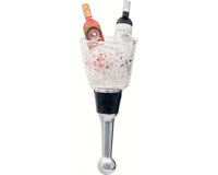 Bottle Stopper - Champagne Bucket  - Acrylic BS-479