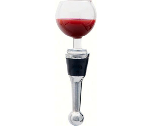 Bottle Stopper - Wine Glass - Acrylic - TBD BS-480