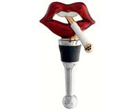 Bottle Stopper - Lips withCigarette - TBD BS-498
