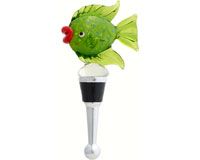 Bottle Stopper - Fish Green BS-503