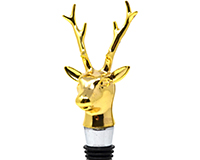 Golden Deer Bottle Stopper BS-531