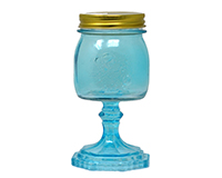 Small Jar Blue 9.5 oz-GL4502BL