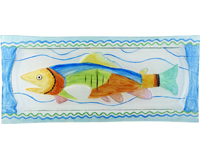 Fish Platter - 15x6.25 Inches-GP-001