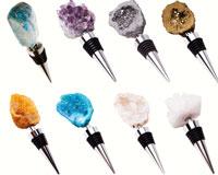 Gemstones/Minerals Wine Bottle Stoppers Assortment-GS3000-AST