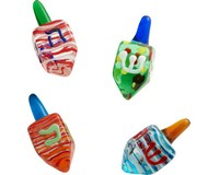 Hanukkah Dreidel - Set of 4 - GB - TBD-HK-015