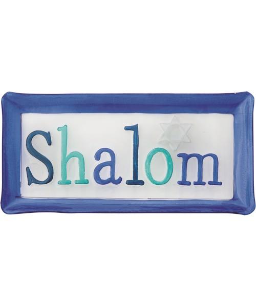 Shalom Platter - 14x7 Inches