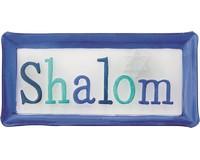 Shalom Platter - 14x7 Inches HK-020