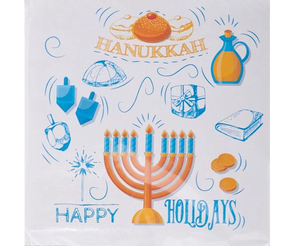 Hanukkah Napkins HK-026'