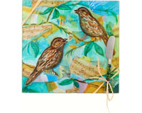 Cheese Board - Bird - Harmony - Square 9 Inch-HS-048