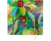 Cheese Board - Bird - Imagination - Square 9 Inch-HS-049