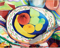Cheese Board - Fruit Bowl - 10x 8 Inches..-HS-054