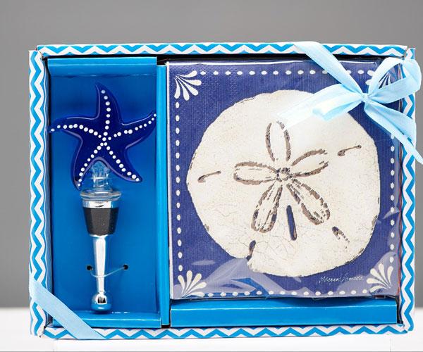Napkin & Stopper Set - Starfish.. HS-075