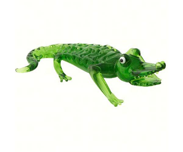 Milano Art Glass Animals-Alligator MA-052