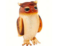 Milano Art Glass Animals-Owl MA-058