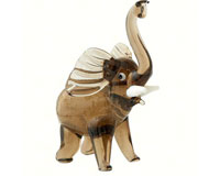 Milano Art Glass Animals-Elephant MA-059