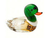 Milano Art Glass Animals-Duck MA-060