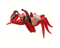 Milano Art Glass Animals-Crab MA-062