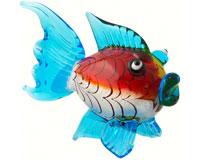 Milano Art Glass Animals-Blowfish LG-MA-069