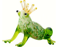 Milano Frog with Crown MA-090