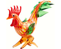 Milano Rooster (Red/Orange) MA-092