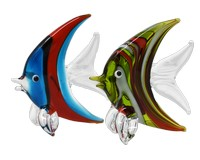 Milano Art Glass Animals-Angel Fish MA-118