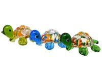 Milano Art Glass Animals-Mini Turtles MA-120