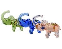 Milano Art Glass Animals-Millefiori Elephants-MA-125