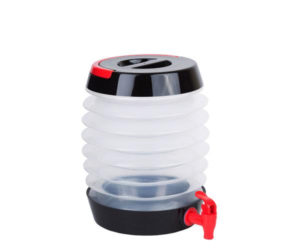 Collapsible Beverage Dispenser Black/Red