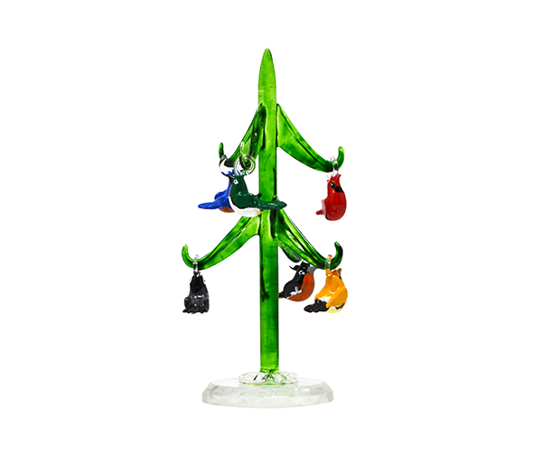 Tree - Green - Songbirds - 6 inch Gift Box TR-005'