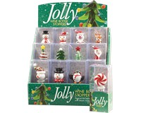 Jolly 12pc Bottle Stopper Display-WAX-011