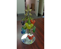 Tree - Mickey Icon with9 Ornaments - 6 Inch WAX-020