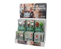 Party Pack Bottle Stopper Display-WAX-045