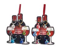 Wine Charms - Gems - Carded-WB-072