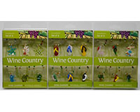 Wine Charms - Coastal - with Display Case WB-073