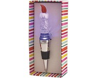 Candle Light Up Glass Bottle Stopper-XM-1041