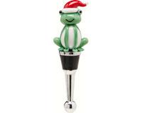 Bottle Stopper - Christmas Frog XM-1080