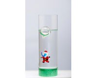 Christmas Floating Scuba Santa Vase XM-1092