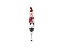 Bottle Stopper - Snowman withHat-XM-1105