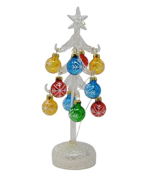 Tree - Light Up - 10 inch with 12 ornaments - GB XM-1120'