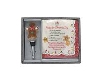 Hostess Set - Gingerbread Man-XM-1135