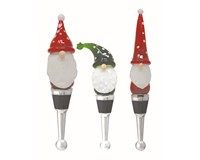 Gnome Trio Bottle Stoppers  GB-XM-1159