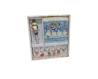 Hostess Set - Snowman Scene-XM-1172