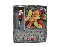 Hostess Set - Vintage Santa Claus XM-1173