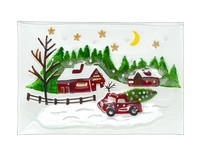 Christmas Platter - Country Christmas GB XM-1193
