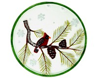 Platter - Winter Cardinal GB-XM-1194
